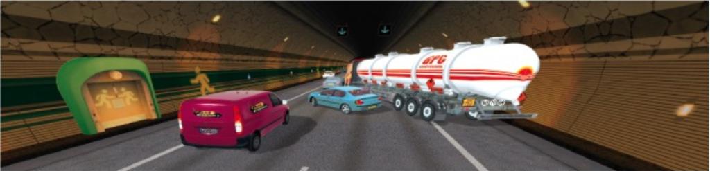 LKW Fahrsimulator Software nach EU Richtlinien zur Aus- & Weiterbildung freigegeben.