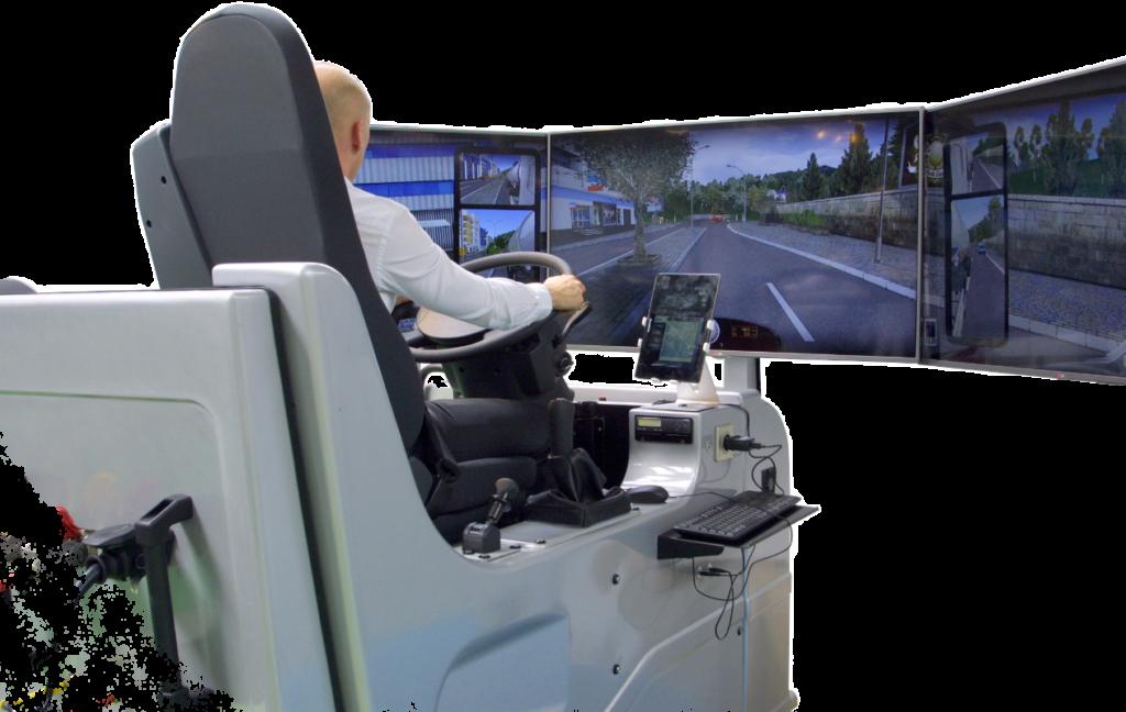 LKW Fahrsimulator zur Aus- & Weiterbildung nach EU-Richtlinien