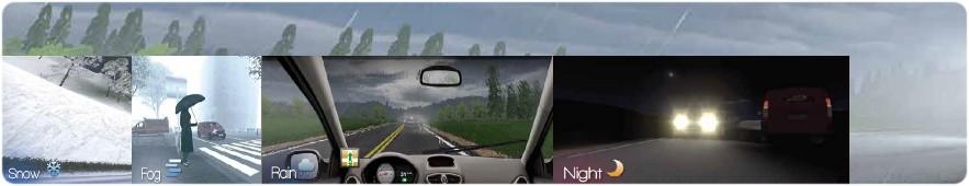 Software zur Ausbildung von Kraftfahrern am Fahrschulsimulator